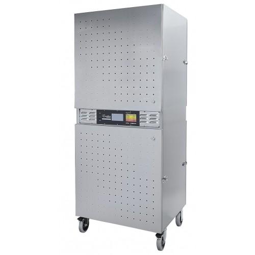 Excalibur Commercial Dehydrator, 2 Zoner - Rostfritt stål